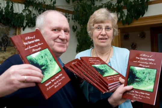 Peter Price (Author) and Mary Button (Darran Valley History Group, Chair)