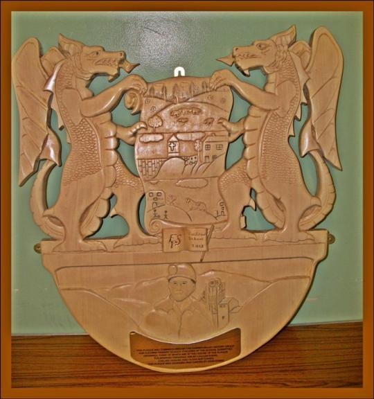 Fochriw plaque (Large)