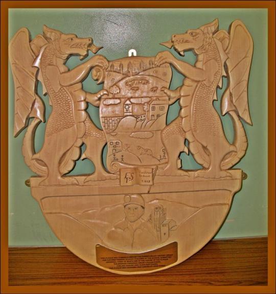 Fochriw plaque (Large)